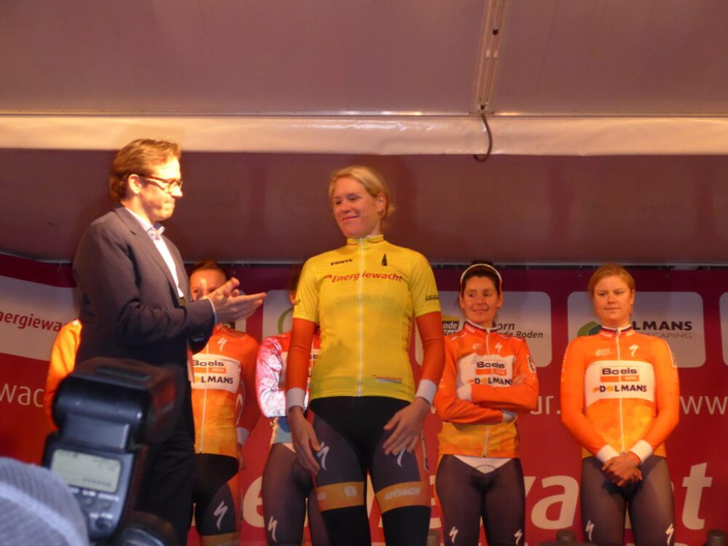 2016_04_06 Presentation of the yellow jersey Energiewacht Tour Groningen Time Trial