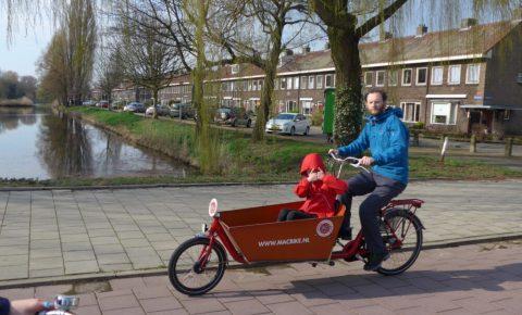 Tristan in Cargo Bike