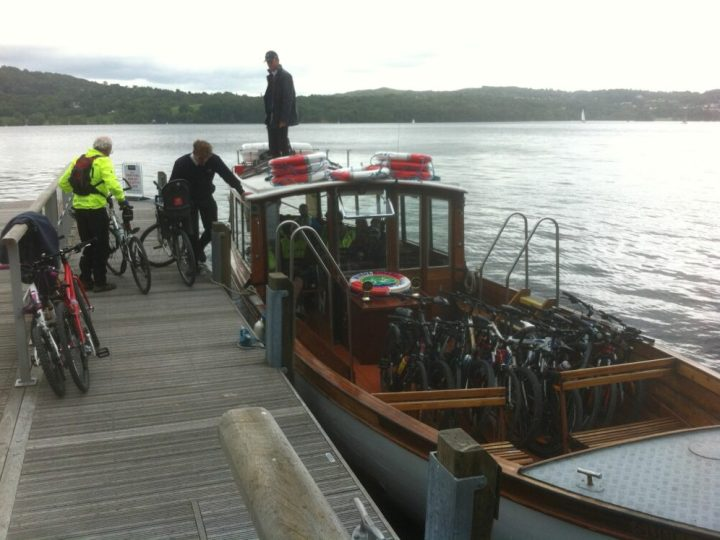 Windermere Bike Boat - family cycling in the Lake District
