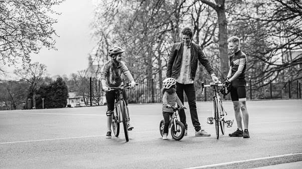 Bradley Wiggins Kids Bike Launch