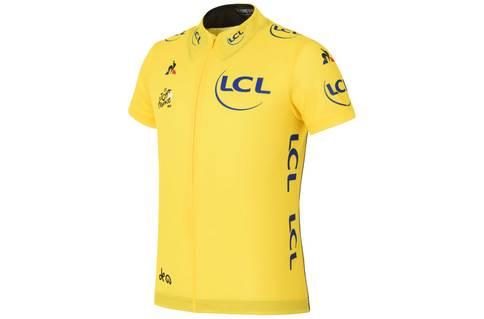 Kids Tour de France Yellow Jersey 2017 TDF - front view