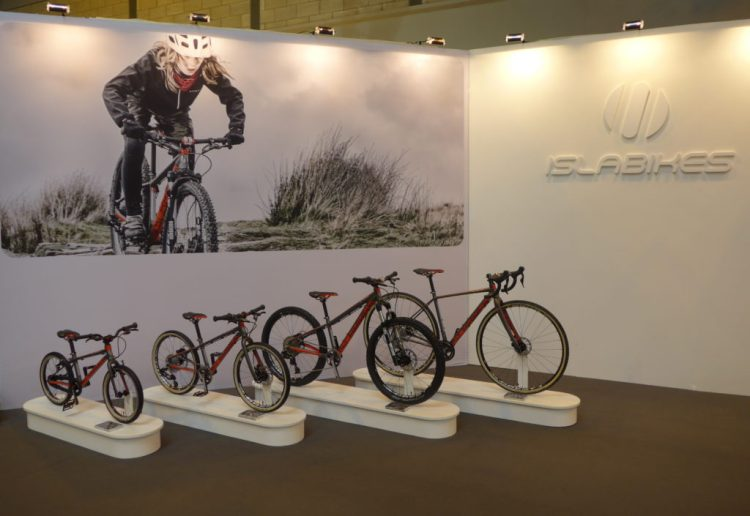 The Islabikes Pro Series on display at the 2016 Cycle Show, Birmingham NEC