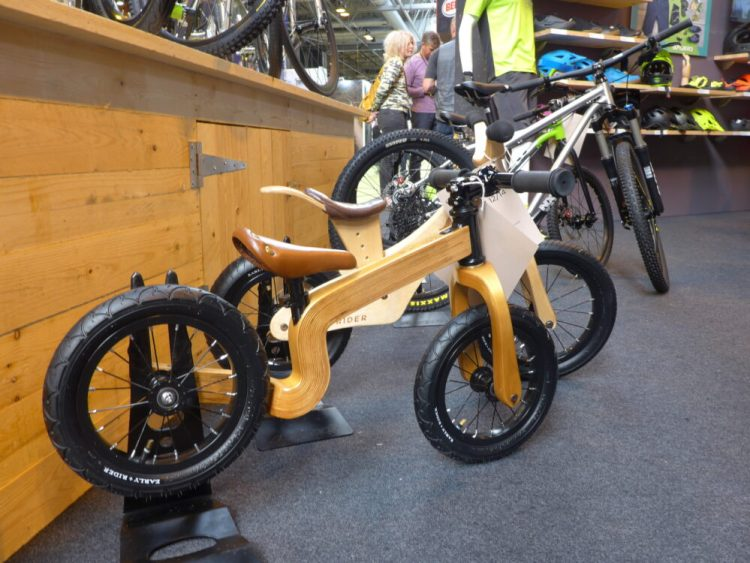 Early Rider Bonsai Balance Bike at 2016 Cycle Show NEC Birmingham