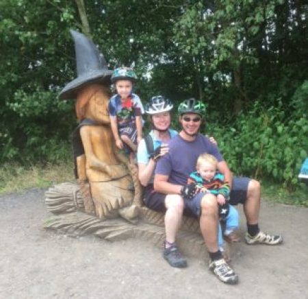 Room on the Broom Trail at Anglers Country Park, West Yorkshire