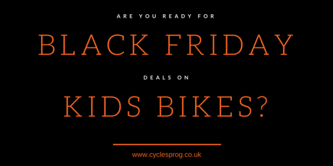 Black Friday deals on kids bikes