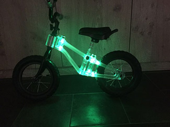 Phanton Light Up balance bike