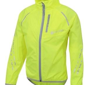 Polaris Strata packaway kids waterproof cycling jacket