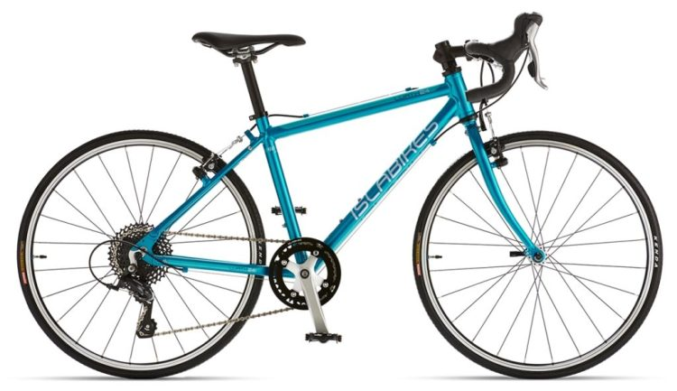 Best road racing bikes for kids - Islabikes Luath in Teal