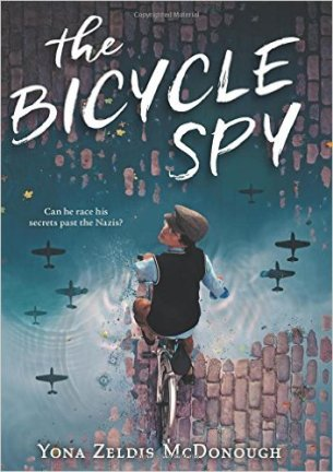 The Bicycle Spy - one of the many kids story books about cycling published in 2016
