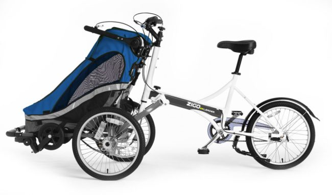 Zigo Leader – The Stroller Bicycle