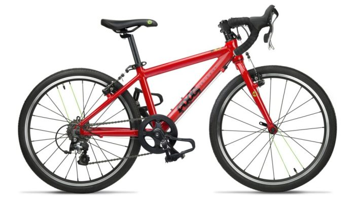 "Best kids road bikes this Christmas - Frog 58 kids 20"" wheel road bike in red"