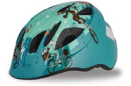 Specialized cycle helmet for use in trailer
