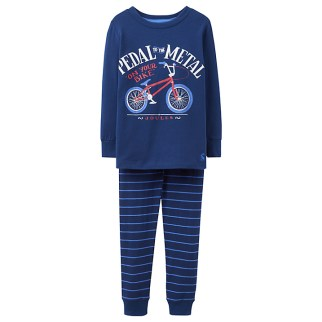 Joules Children's PJ's with a cycling theme