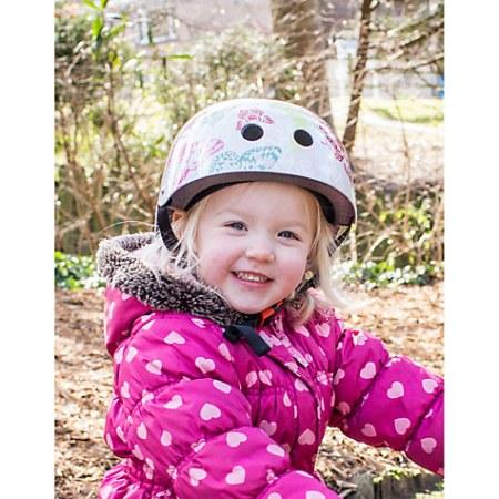 Kiddimoto butterfly cycling helmet