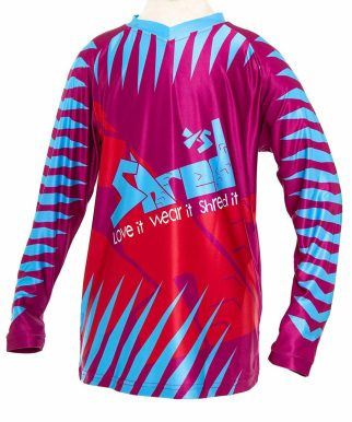 ShredXS mountain bike jersey for small kids