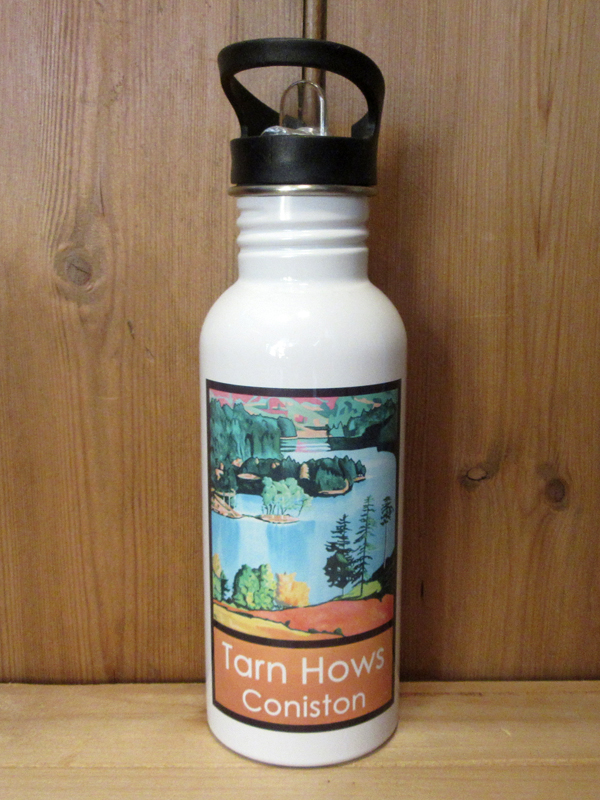 Metal Water bottle with picture of Lake District