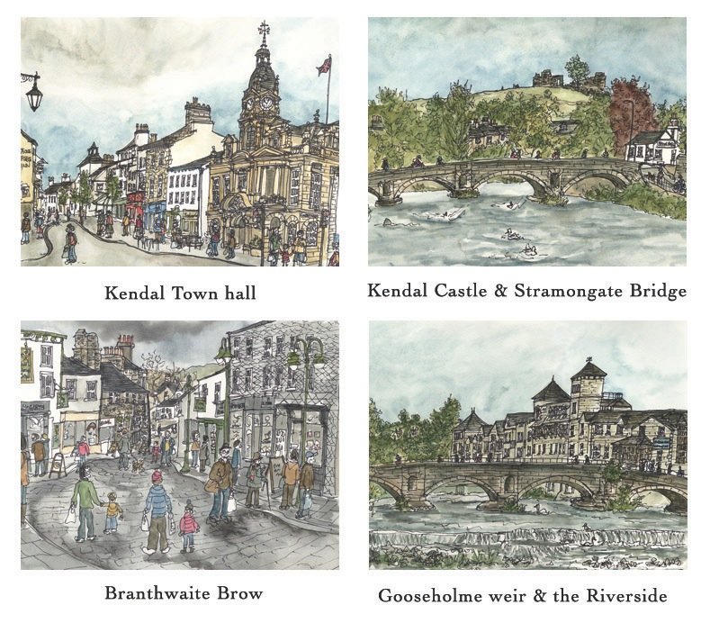 Kendal placemats and Coasters