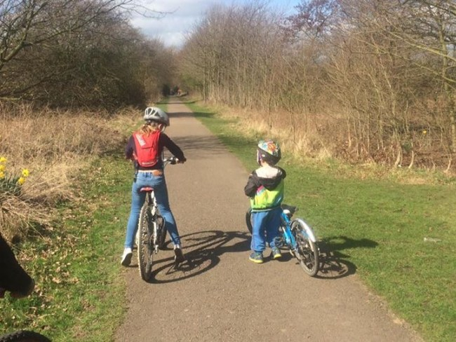 York Solar System Cycleway is flat and suitable for all ages