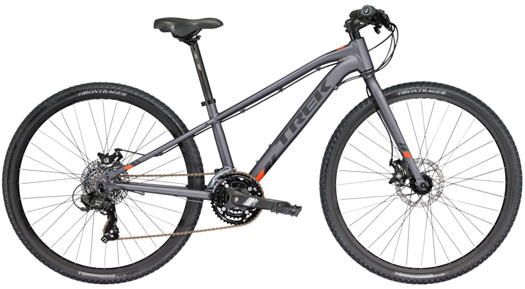 best junior mountain bikes - Trek Kids Dual Sport Grey