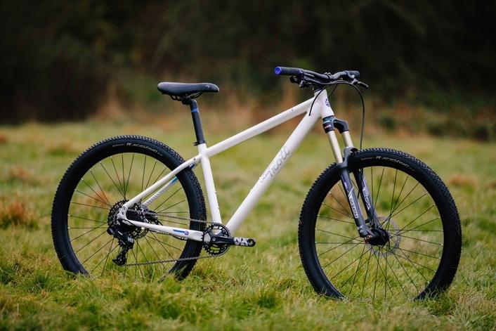 best junior mountain bikes - Trott MTB 1 white and purple