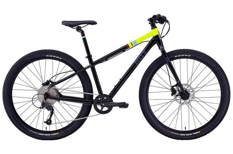 good quality but cheap kids mountain bike - Hoy Bonaly 26 black and lime