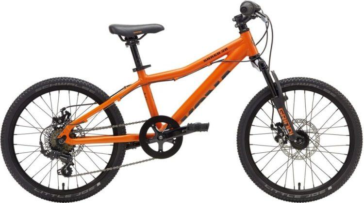 Kona Shred 20 inch wheel in matt orange