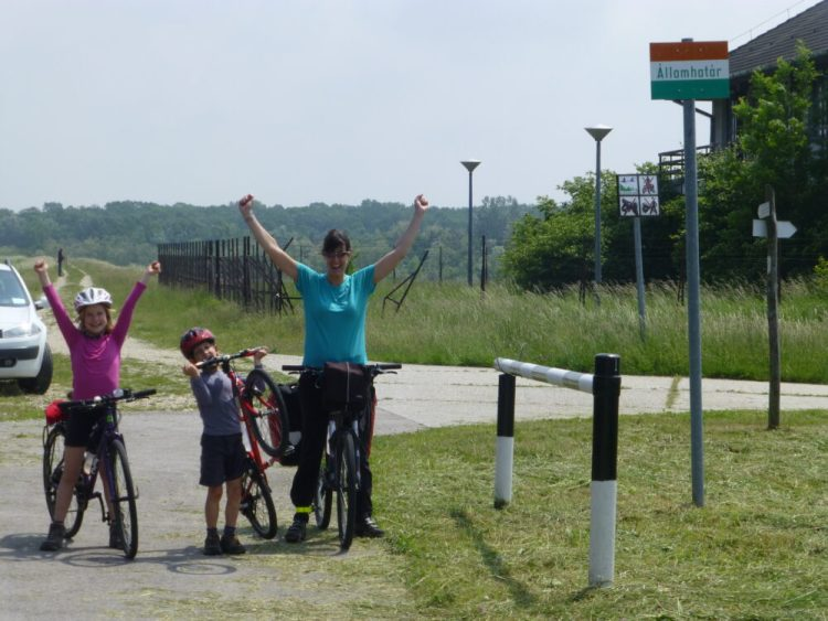 Family cycling holiday along the River Danube from Vienna to Budapest