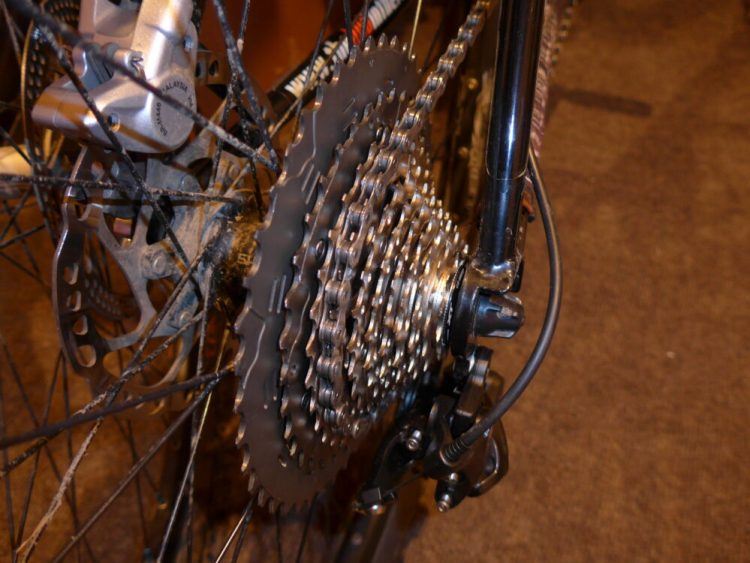 buying a second hand kids bike - gears