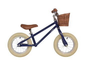 Bobbin Moonbug balance bike in blueberry is new for 2017