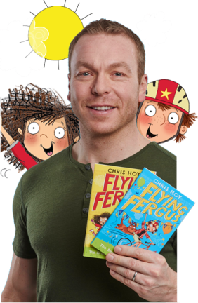 Sir Chris Hoy Flying Fergus picture