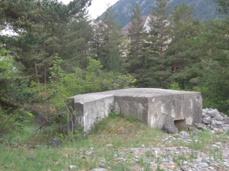 WWII bunker near Briancon in the French Alps