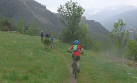 Cycling in the French Alps to Briancon