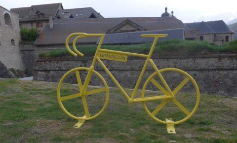 Tour de France bike in Briançon