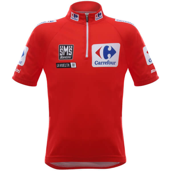 Santini kids La Vuelta 2018 red leaders jersey