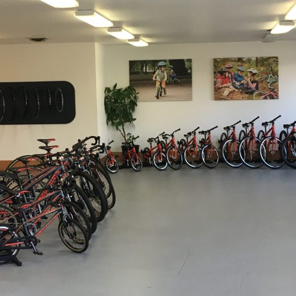 Islabikes USA showroom in Portland Oregon