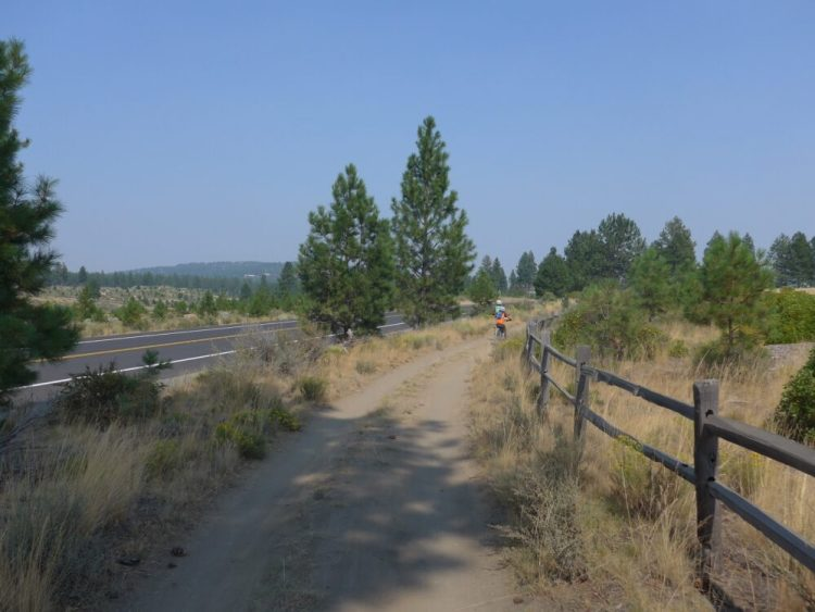 Riding in Bend Oregon