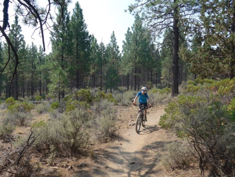 Riding the trails of Bend - Day 1 - Phils trail, Bend Oregon MTB