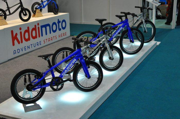 Cycle Show 2017 - Kiddimoto prototype Darwin pedal bikes