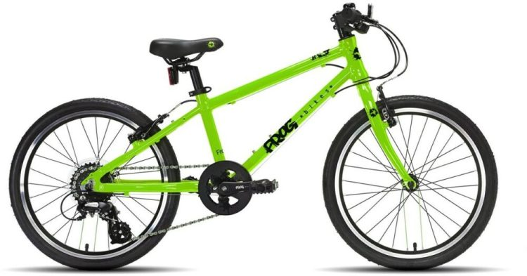"Frog 55 kids bike is one of the best 20"" wheel hybrid bikes around"