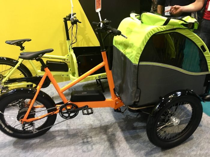 Cycle Show 2017 - Cargo bikes