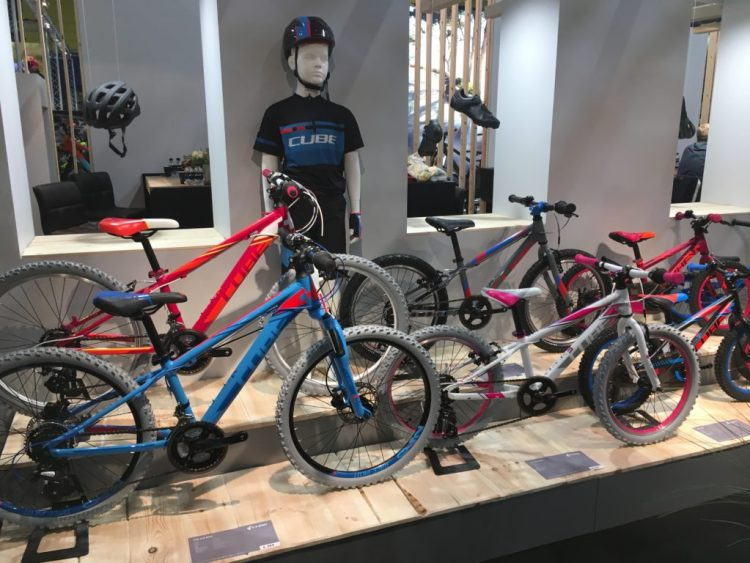 Cycle Show 2017 - Cube Bikes kids rang