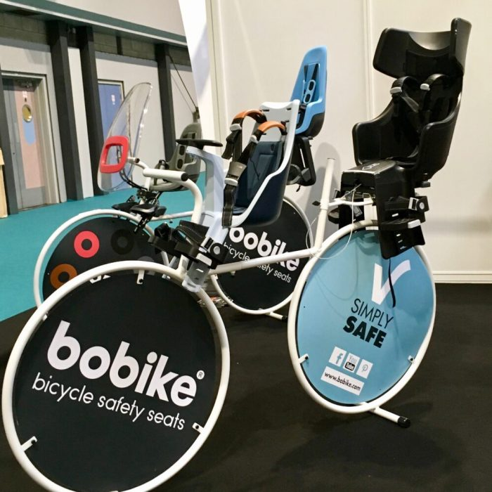 Cycle Show 2017 - Bobike kids bike seats and accessories