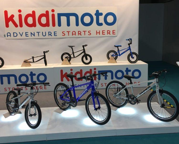Kiddimoto bike stand at the 2017 Cycle Show