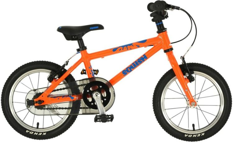 "Squish 14"" wheel kids bike is ideal for 4 year old child's first pedal bike"