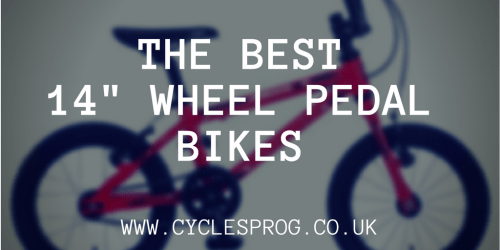 "The best 14"" wheel kids bikes with pedals"