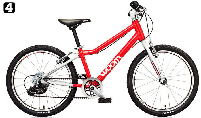 "Woom 4 20"" kids bike"