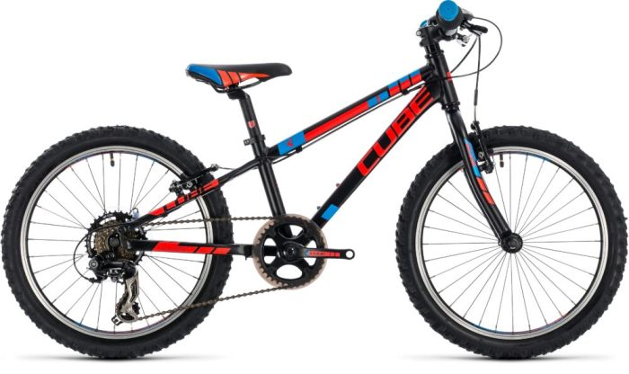 Cube Kid 200 in black - cheap kids bike