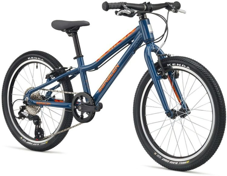 "Saracen Mantra 2 - one of the best 20"" wheel hybrid bikes around this year for a 7 year old child"