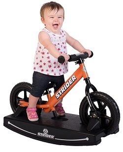 The Strider balance bike could be the best bike for a 1 year old as it can be used with the rocker base from their 1st birthday and then turn into a balance bike at about 18 months