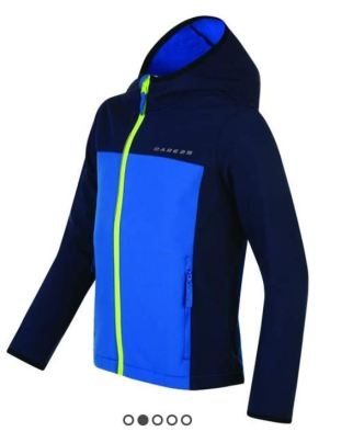 Dare2b Kids Advocate II Shell Jacket reduced price bargain is a cheap way to kit your child out for winter cycling